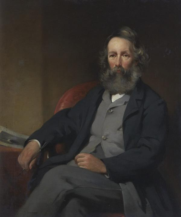 James Eckford Lauder, 1811 - 1869. Artist (About 1867)
