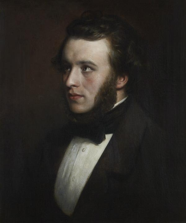 Alexander Smith, 1830 - 1867. Poet and writer (About 1856)