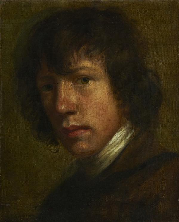 John Opie, 1761 - 1807. Artist (Self-portrait) (About 1785)