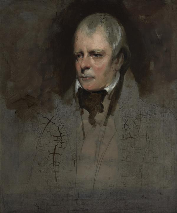Sir Walter Scott, 1771 - 1832. Novelist and poet (Painted 1830)