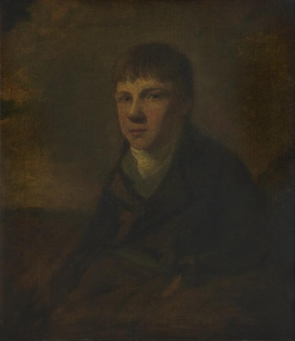 Sir David Wilkie, 1785 - 1841. Artist (Self-portrait) (after 1800)