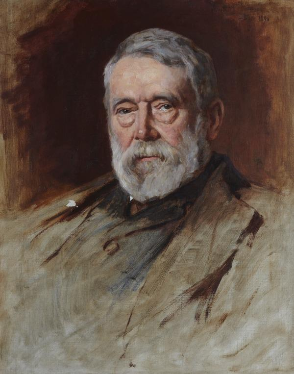Professor David Masson, 1822 - 1907. Historian and author (Dated 1896)