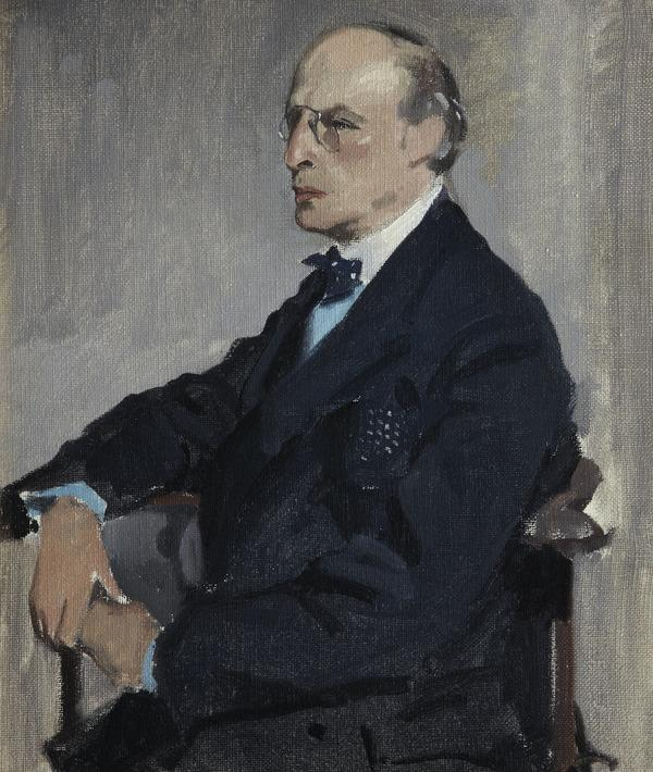 Arthur Kay, 1860 - 1939. Collector and critic (Painted 1930)