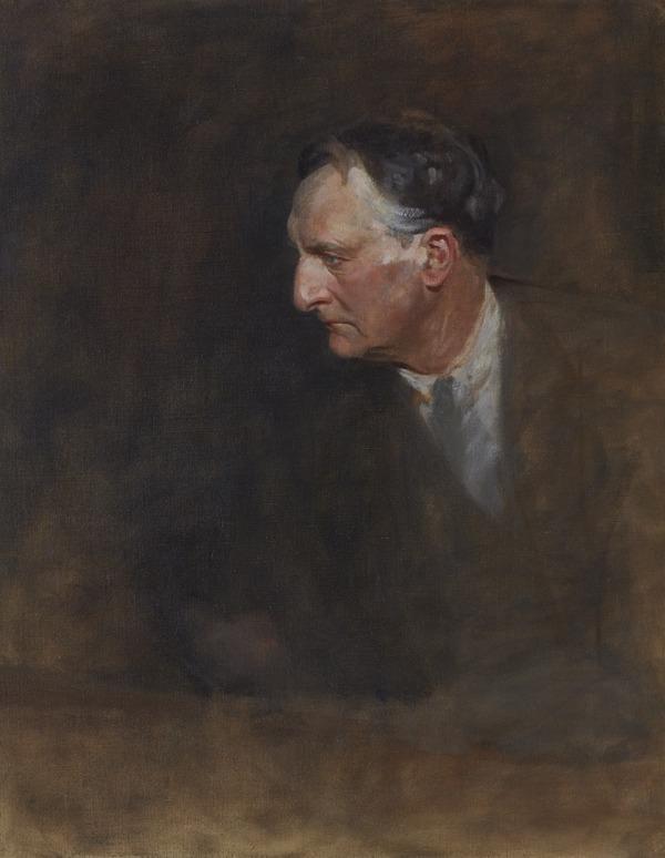 Edward Grey, Viscount Grey of Fallodon, 1862 - 1933. Statesman. (Study for portrait in Statesman of the Great War, National Portrait Gallery,... (1918 - 1930)
