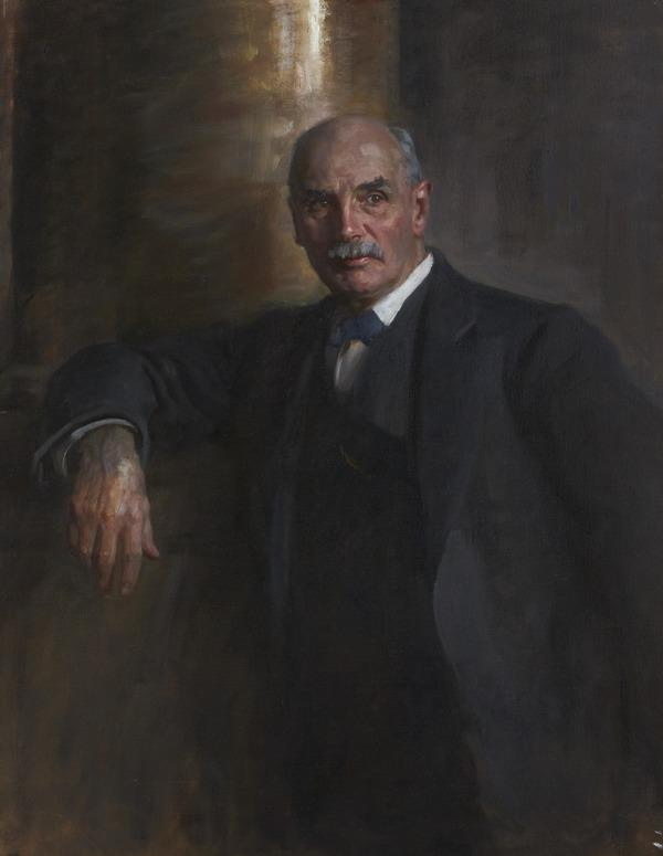 George Nicoll Barnes, 1859 - 1940. Statesman. (Study for portrait in Statesmen of the Great War, National Portrait Gallery, London) (1918 - 1930)