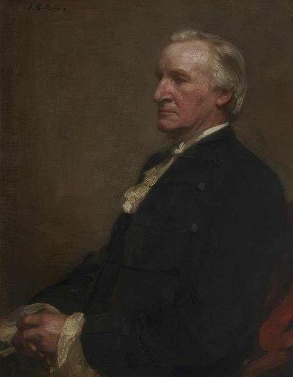 Rev. Alexander Whyte, 1836 - 1921. Principal of New College, Edinburgh (About 1900)