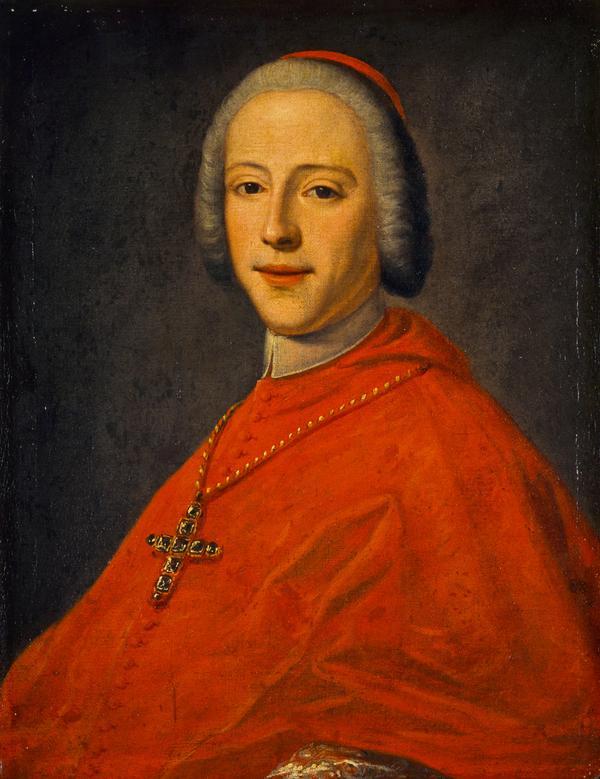 Prince Henry Benedict Clement Stuart, 1725 - 1807. Cardinal Duke of York (About 1748)