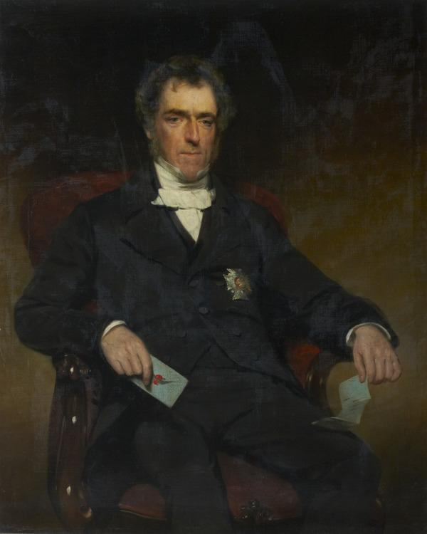 Sir John Shaw Lefevre, 1797 - 1879. Clerk of the Parliaments (1856 - 1864)