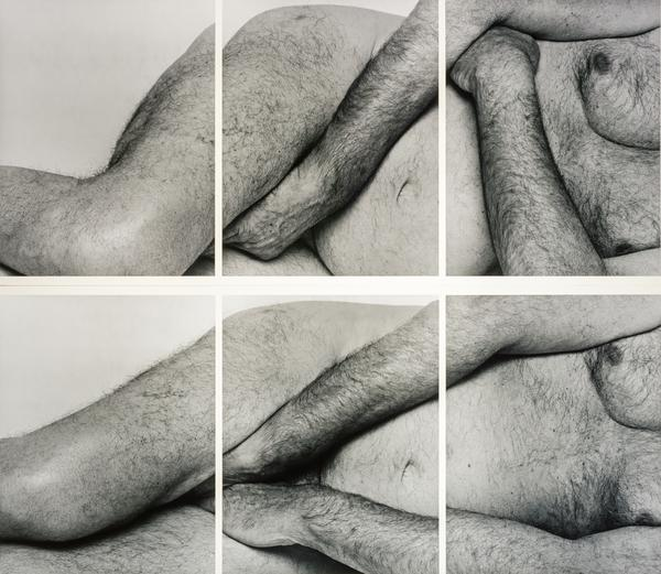 Reclining Figure, Two Panels No. 1 (1996)