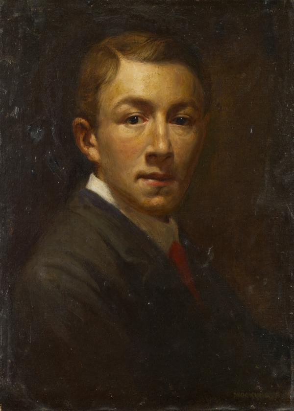 Self Portrait of Young Life (About 1905)