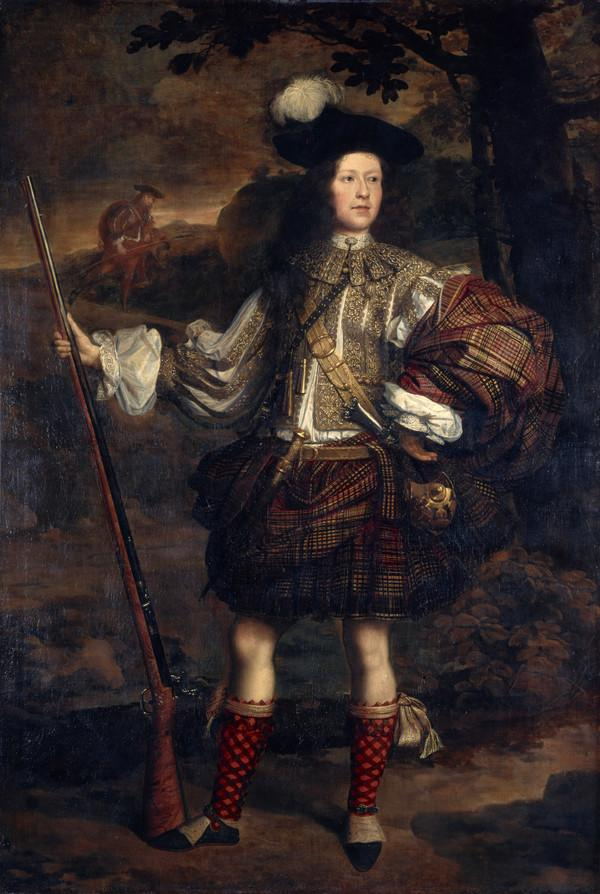 Lord Mungo Murray [Am Morair Mungo Moireach], 1668 - 1700. Son of 1st Marquess of Atholl (About 1683)
