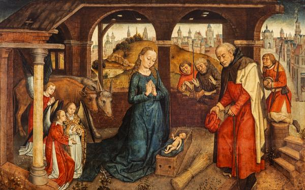 The Adoration of the Shepherds (late 15th century)