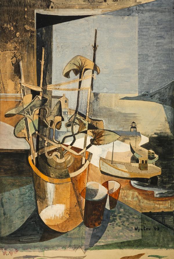 Cyclamen (Dated 1948)