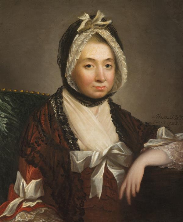Mary Barbara Drummond, Mrs William Abernethy Drummond, 1721 / 1722 - 1789. Wife of the Bishop of Edinburgh (1788)