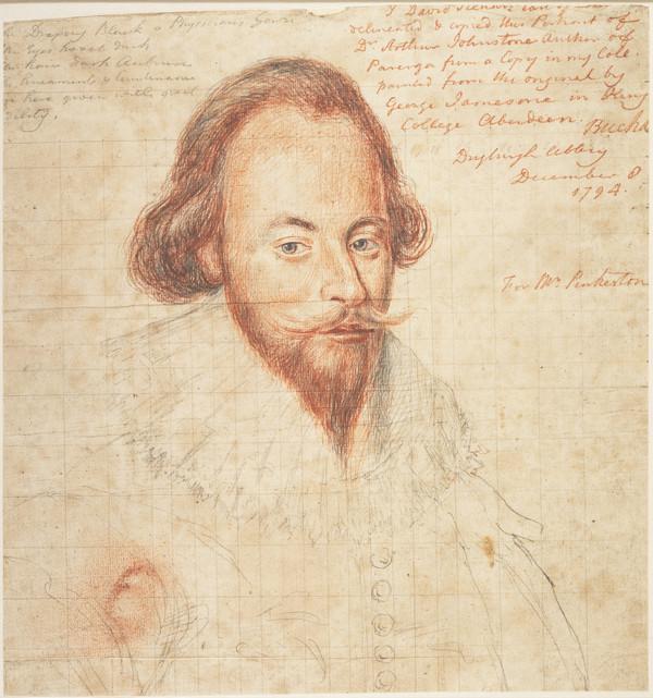 Arthur Johnston, c 1577 - 1641. Poet and physician (1794)