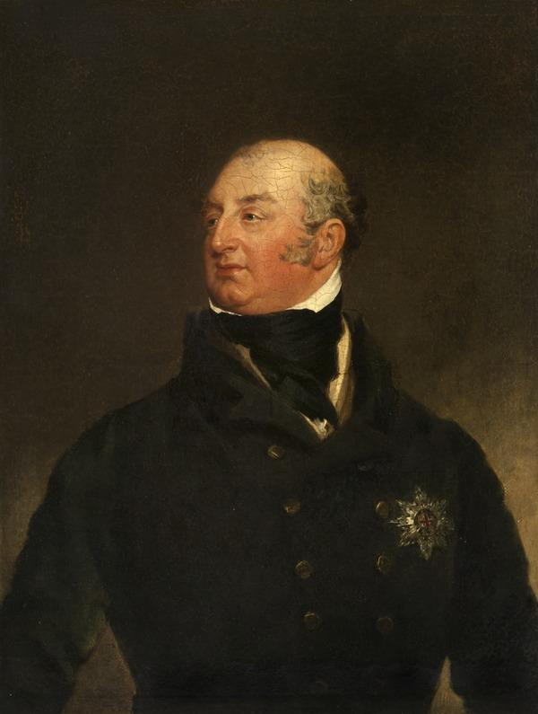H.R.H. Frederick Augustus, Duke of York and Albany, 1763 - 1827. Second son of George III (after 1820)