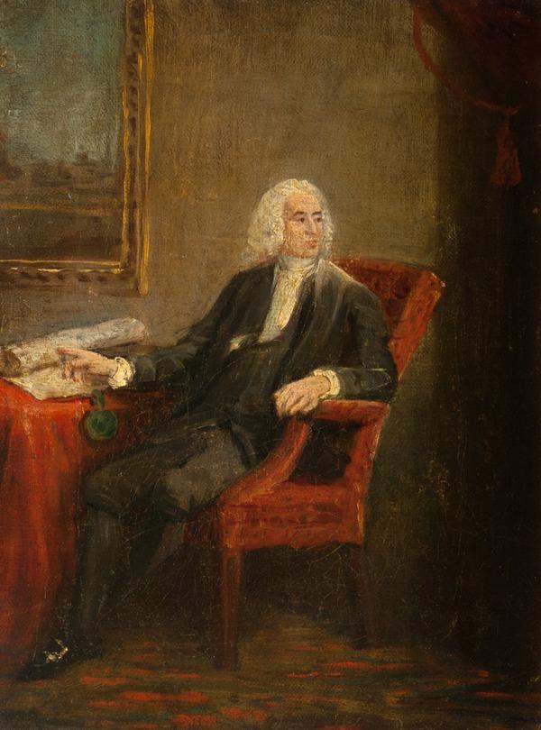 Rev. Alexander Webster, 1707 - 1784. Moderator of the General Assembly (after 1780)