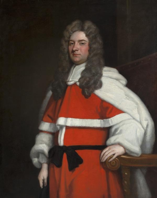 George Dalrymple of Dalmahoy, 1680 - 1745. Baron of Exchequer (About 1709)