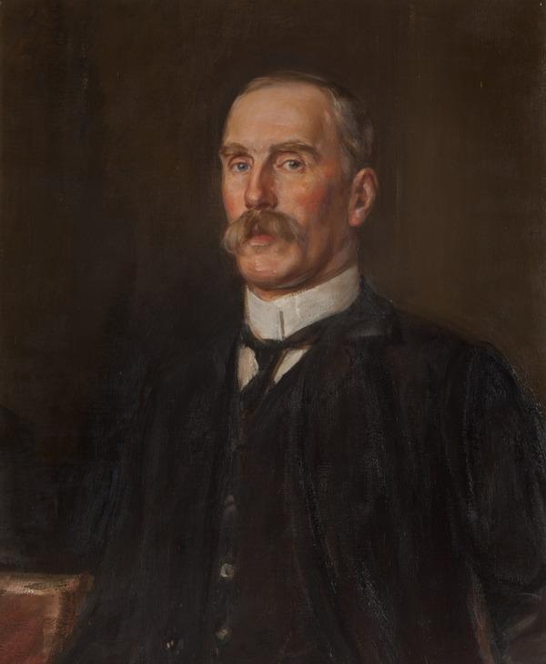 Sir William Alexander Smith, 1854 - 1914. Founder of the Boys' Brigade (About 1910)