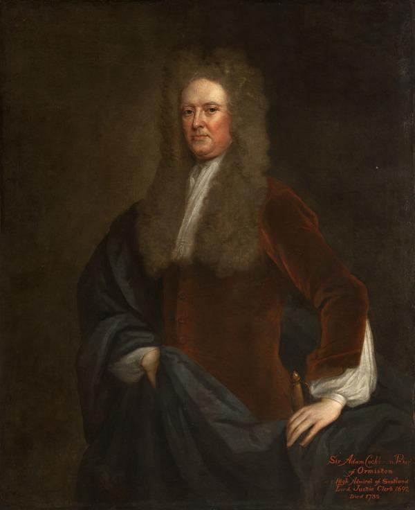 Adam Cockburn, Lord Ormiston, 1656 - 1735. Lord Justice-Clerk