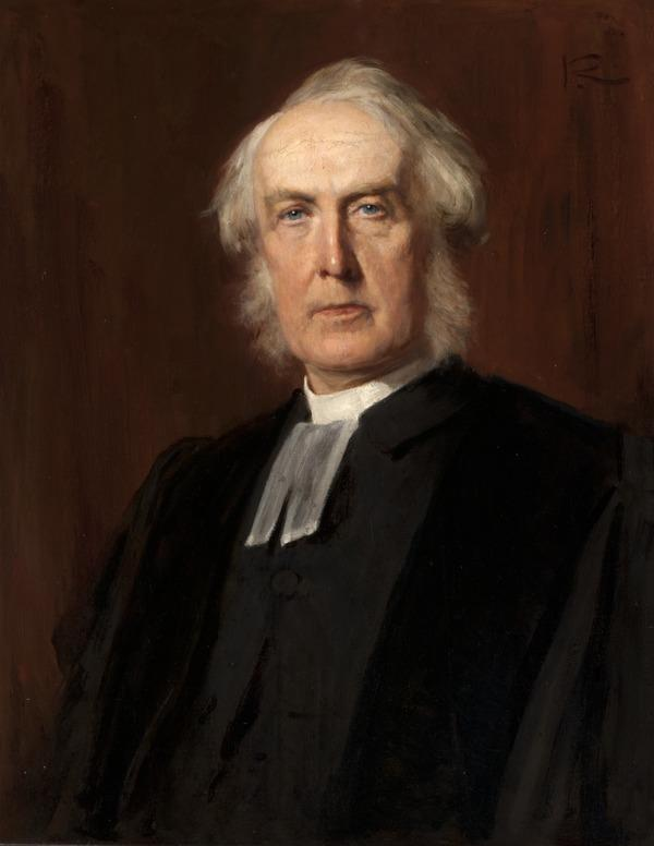 Rev. Robert Rainy, 1826 - 1906. Principal of New College (About 1890)