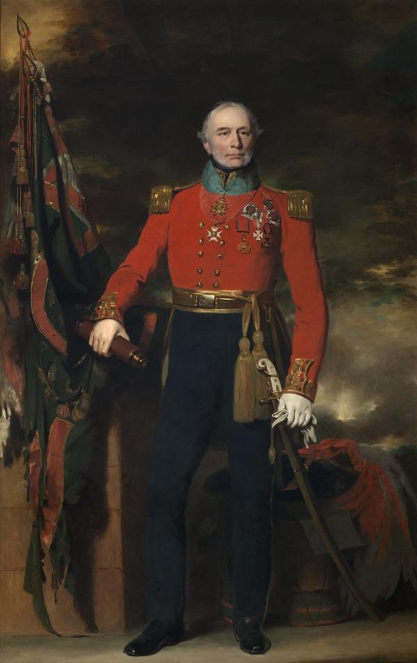 General Sir Neil Douglas, 1779 - 1853. Soldier (1846 (exhibited at RSA))
