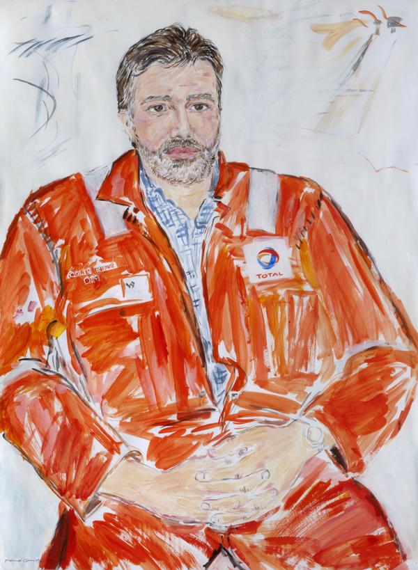 Colin King, b. 1960. Offshore Installation Manager (2004)