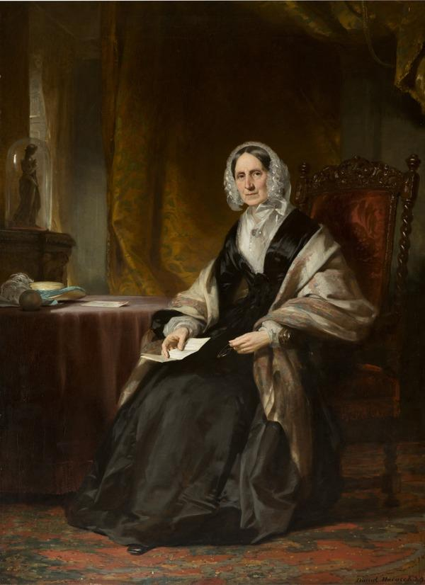 Louisa Balfour, Mrs James Mackenzie of Craigpark (1779 - 1859) (probably 1840s - 1850s)