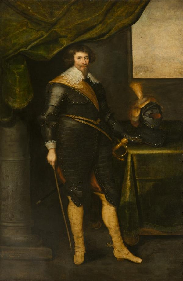 Portrait of a Man, called Robert, Mester Erskine, probably Colonel Alexander Erskine of Cambuskenneth (died 1640) (1627)