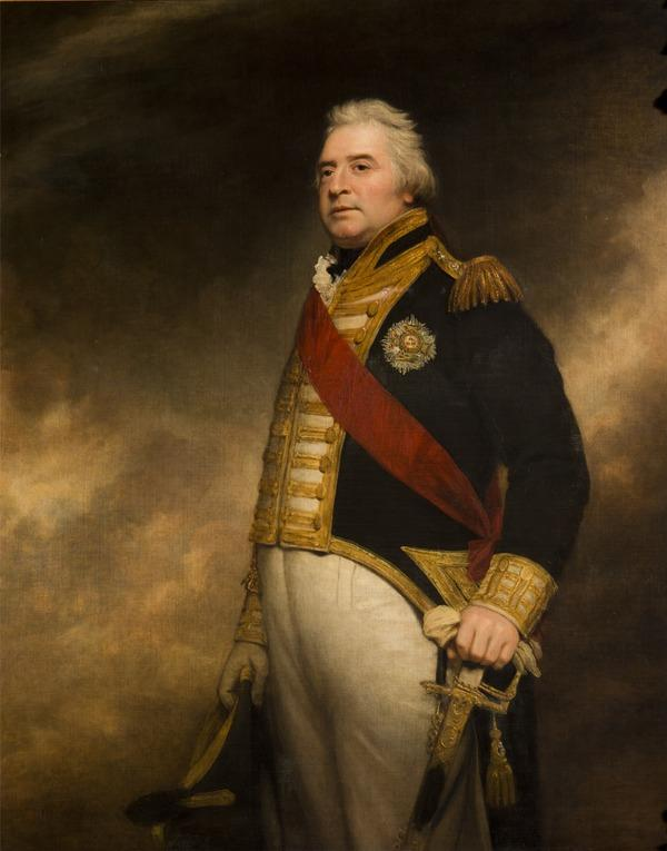 Admiral Sir George Campbell, d. 1821 (1818)