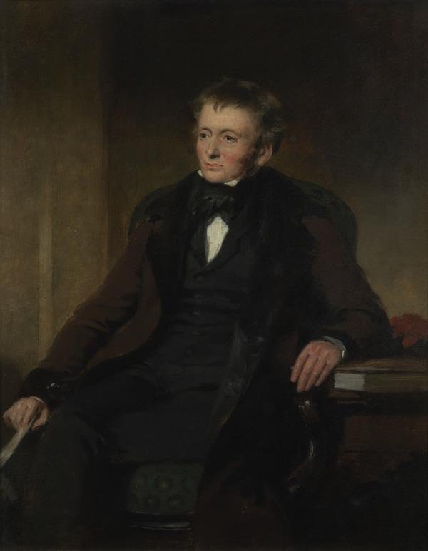 Thomas de Quincey, 1785 - 1859. Author and essayist (About 1846)