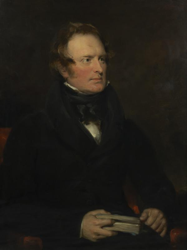 Professor John Wilson (nom de plume, 'Christopher North'), 1785 - 1854. Author and moral philosopher (1829)
