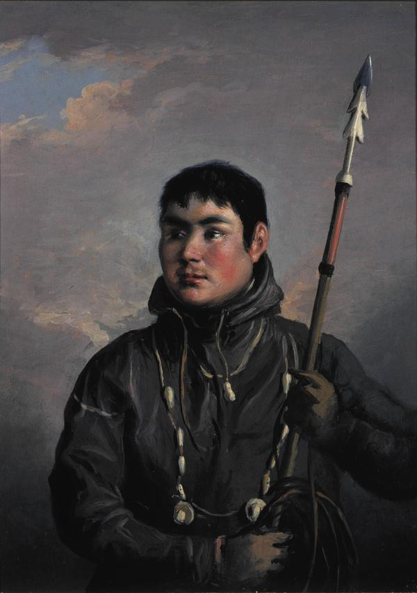 John Sakeouse, 1792 - 1819. Eskimo whaler and draughtsman (About 1816)