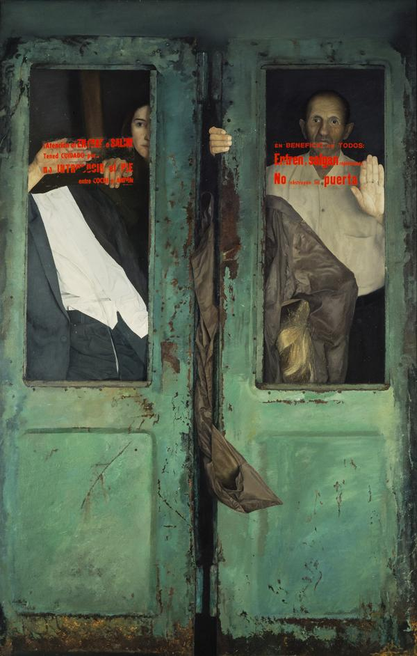 En el Metro (Las Puertas Verdes) [On the Underground (The Green Doors)] (Dated 1971 and 1972)
