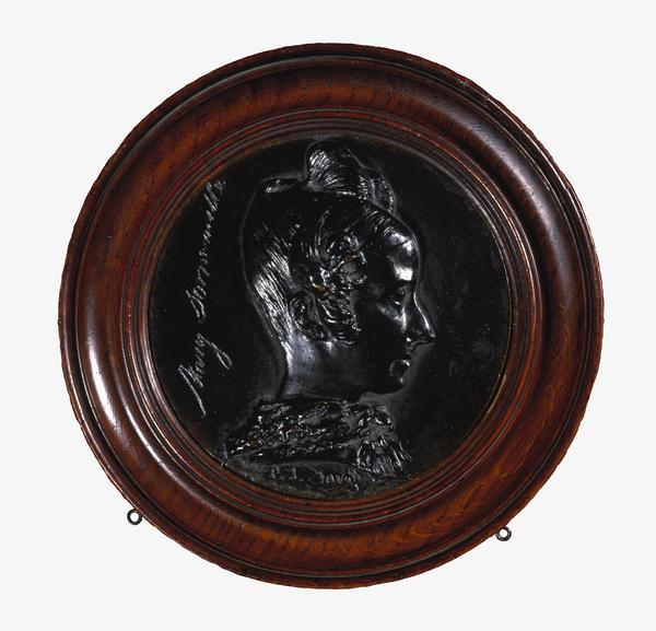 Mary Fairfax, Mrs William Somerville, 1780 - 1872. Writer on science (About 1833)