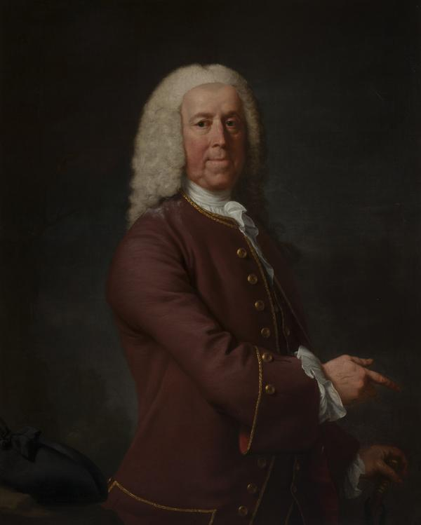 Portrait of a Gentleman (dated 1758)