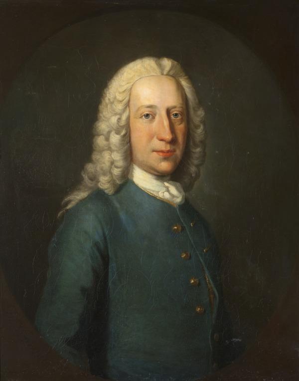 Portrait of a Gentleman (Dated 1745)