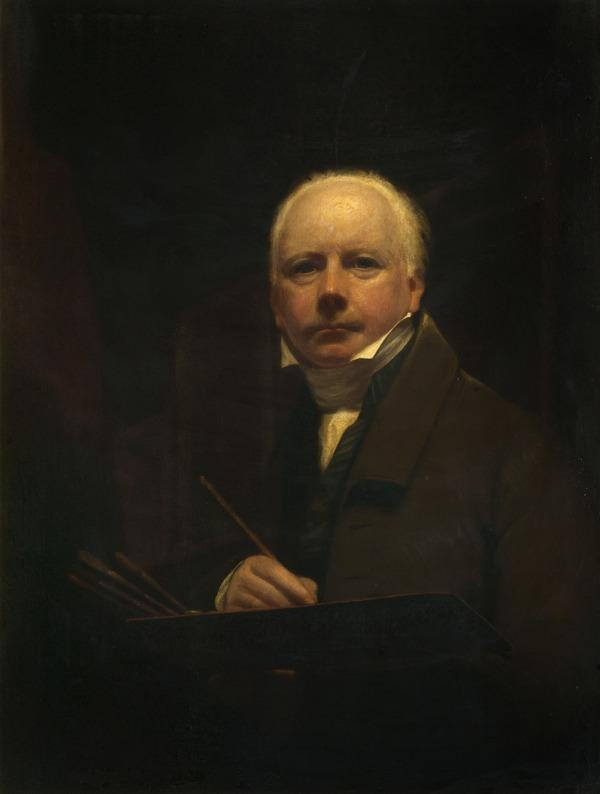 George Watson, 1767 - 1837. Artist and first President of the Scottish Academy (Self-portrait) (About 1816)