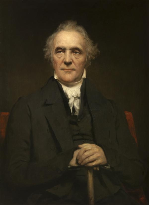 Rev. Thomas Chalmers, 1780 - 1847. Preacher and social reformer (About 1838)