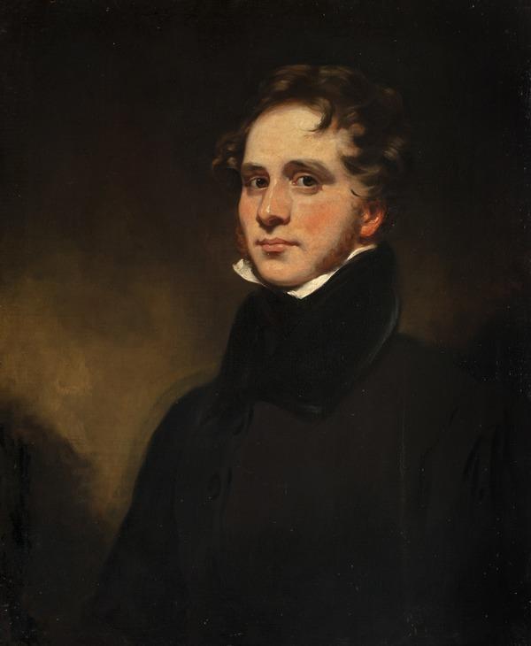 John Syme, 1795 - 1861. Artist (Self-portrait)