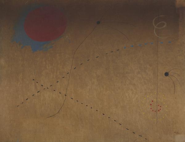 Peinture (Le Cri) [Painting (The Cry)] (1925)