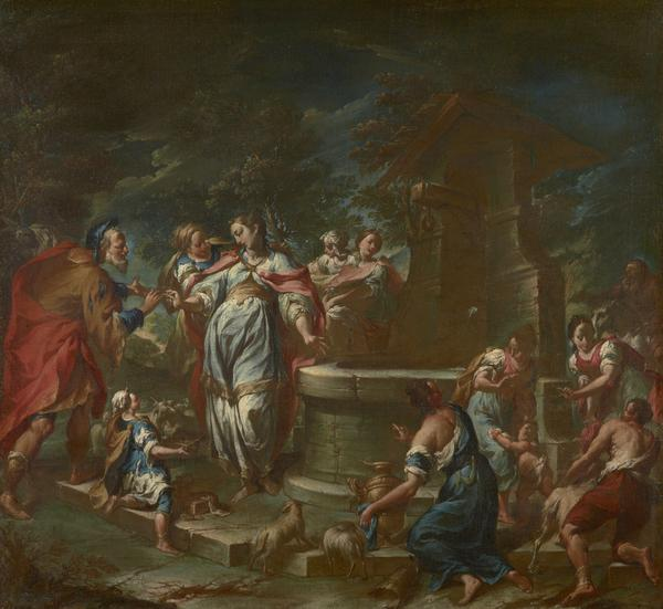 Rebecca at the Well (About 1750)
