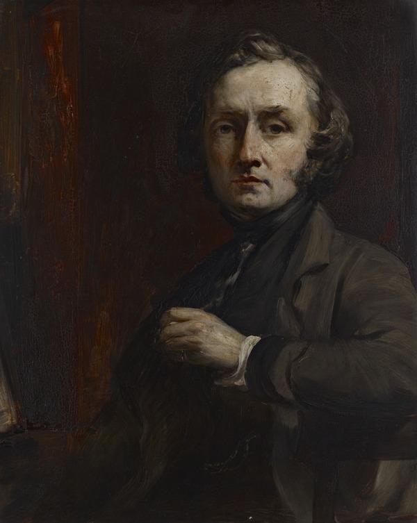 Self-portrait (Exhibited 1853 (RSA))