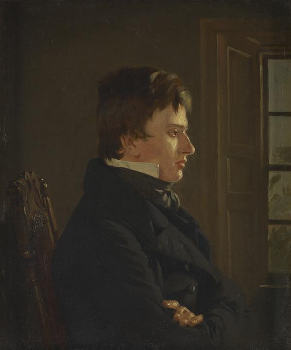 Thomas Sword Good, 1789 - 1872. Painter in Berwick (Self-portrait) (About 1816)