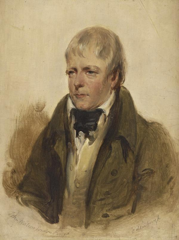 Sir Walter Scott, 1771 - 1832. Novelist and poet (About 1830)