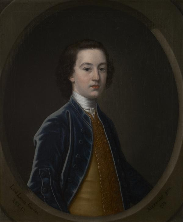 Lord Lewis Gordon, about 1724 - 1754 (1738)