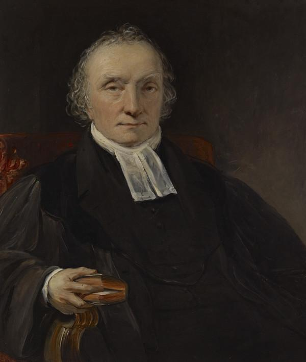 Rev. Thomas Chalmers, 1780 - 1847. Preacher and social reformer (About 1830)