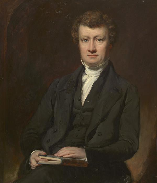 Rev. William Cunningham, 1805 - 1861. Theologian (About 1850)