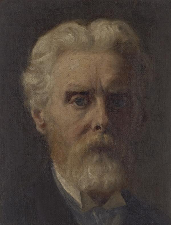 James Archer, 1822 - 1904. Artist (Self-portrait) (About 1890 - 1900)