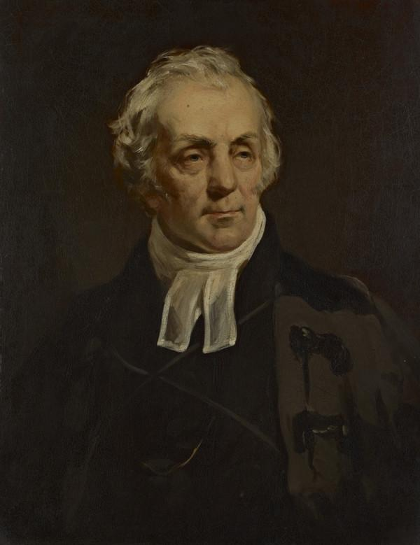 Rev. Thomas Chalmers, 1780 - 1847. Preacher and social reformer (Painted 1843)